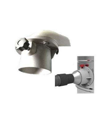 Aluminium D90 inlet and quick release