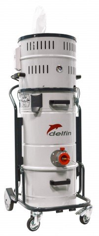 202 DS ECO T : ATEX Zone 20/21-22 Industrial Vacuum with high filtration