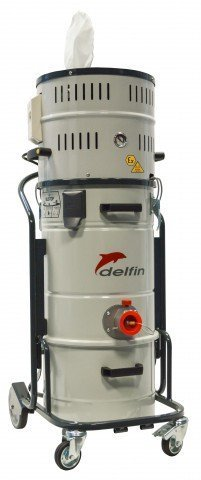 Combustible Dust Vacuum - Delfin ATEX - 202 DS Z2-22 MT white