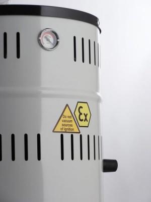 Combustible Dust Vacuum - Delfin ATEX 202 DS Z2 T