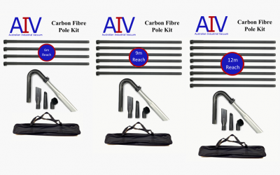 Revolutionary Carbon Fibre High-Reach Cleaning Kits
