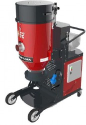 Dashclean Three Phase Continuous Bagging - 2 Stage Filtering - G62 Series Vacuum