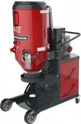 Dashclean Three Phase Continuous Bagging - 2 Stage Filtering - G72 Series Vacuum