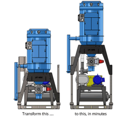 Portable Industrial Vacuum - Elevator™ Series