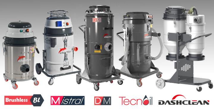 Single Phase Industrial Vacuums