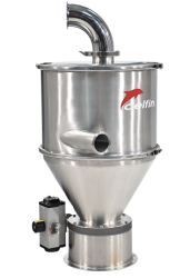 Delfin Electro-pneumatic conveyor for transporting powders and grains over large distances - TECH420E