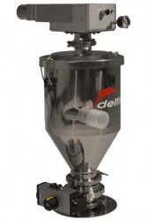 Delfin Electro-pneumatic conveyor for transporting powders and grains over large distances - TECH280P