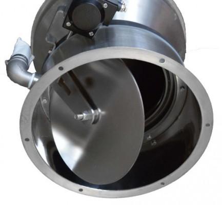 Delfin Electro-pneumatic conveyor - TECH420E - Discharge Unit