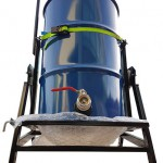 Contractor Vacuums - 205L Collection Drum and Tipper
