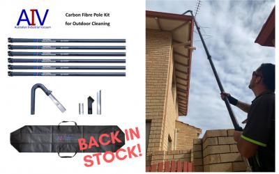 Carbon Fibre Pole Kits – Back in Stock!