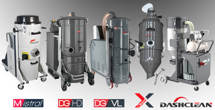 Three Phase Industrial Vacuums