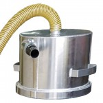 Contractor Vacuums - Top Hat Cyclonic Separator